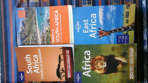 AFRICA Travel Guides Set of 4