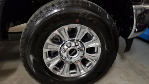 Brand new Ford F350 rims and tires!