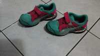 Girls Puma sneakers size 12.5 (us)