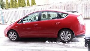 Toyota Prius 2008 Barcelona Red Hotty