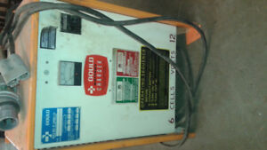 Industrial  12 Volt Battery chargers for Electric Fork lifts