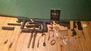 Big Paintball gun Tiberius t9.1 working condition  Cambridge Kitchener Area image 4