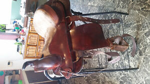 For sale 3 different western saddles Prince George British Columbia image 1