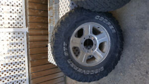 06 f350 rims and tires