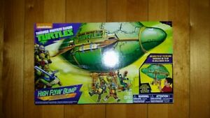 "Teenage Mutant Ninja Turtles High Flyin' Blimp Toy TMNT 30"" Infl"
