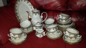 TRADING! Fine China Set. (12 person coffee + 11 person dining)