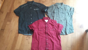 Guess and Kenneth Cole Reaction men's shirts - size XXL