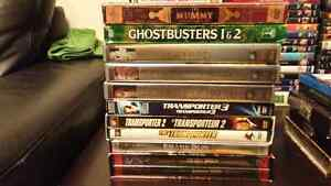 DVD collections (Blu-Rays in other ads)