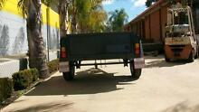 6 x 4 H/D Full Checker Plate 450mm sides Hydraulic Braked Trailer Epsom Bendigo City Preview