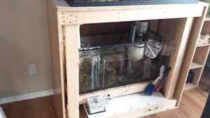 80 gal salt water aquarium  $1300 obo Campbell River Comox Valley Area image 2