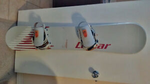 Used 149 cm Snowboard / Bindings & Size 7 Womens Boots
