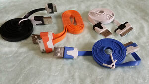 Brand new iphone ipad ipod ipod mini touch colored cables