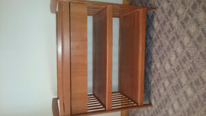Change table with large drawer
