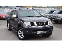 2008 NISSAN NAVARA OUTLAW DCI 4X4 SWB SHR D /C WITH CREW CAB AND JUST 36000