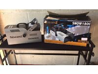 Beamz 1800 snow machine dj disco