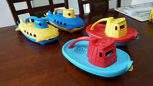 Green Toys TugBoats/ Submarines $10 each