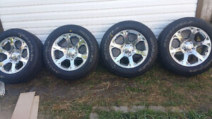 BRAND NEW 20 Inch DODGE RAM RIMS AND TIRES