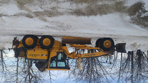 Graders with work