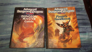 Donjon et dragon (player's handbook 2nd edition)