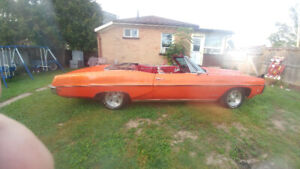 1968 Pontiac  parisienne  Convertible THIS WEEKEND ONLY