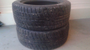 205/55R16 2 pneu HIVER DUNLOP winter