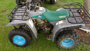 3 Yamaha timberwolf's as a package