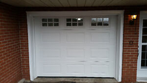 Garage Doors R16 insulated installed $850