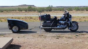 Treker Motorycle pull Behind Motorcycle trailer