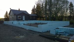 Frost wal/Grade beam ICF contractor for hire Strathcona County Edmonton Area image 2