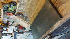 cast iron table saw wing