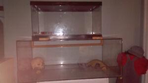 vend terrarium avec serpent 20 gallon couvert grillagé