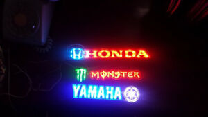 HOONIGAN YAMAHA HONDA MONSTER LED DECALS