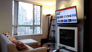 1BR+1BA Yaletown-Roundhouse Station (3 MONTHS, FURNISHED)