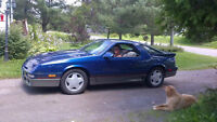 1989 Chrysler Daytona Shelby 5 Speed