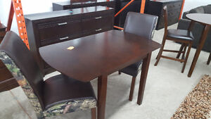 3 piece drop leaf camo dining set - Delivery Available