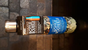 PURE Insulated metal water bottle (camo) New never used, 350ml