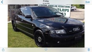 2000 Blacked Out Audi A4 Quattro All Wheel Drive For Sale