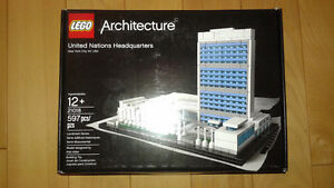 Lego Architecture Nations-Unies / United Nations Headquarters
