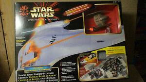 Models of Star Wars mint original packaging