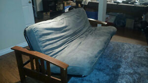 FUTON  COUCH  AND BED
