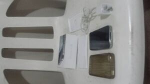 Black iPhone 4S 32 Gb with casing & box