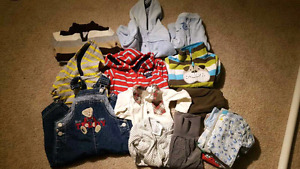 Baby boy lot clothes 3-9 month