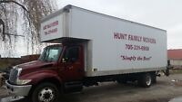HUNT FAMILY MOVERS -TRUST OUR FAMILY TO MOVE YR FAMILY