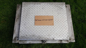 stainless steel chain box in between frame 150.00