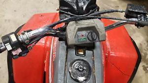 Honda fourtrax 250cc 2 wheel drive 700 obo