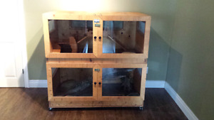 Large Custom Hand Crafted Reptile Enclosure