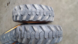 RIMS & TIRE FOR CASE, BOBCAT, NEW HOLLAND SKID STEER LOADERS.
