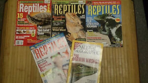 Large assortment of herp books + a few others