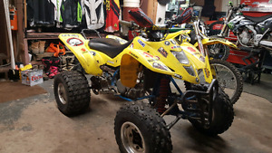 03 Suzuki LTZ400 Trade for dirt bike