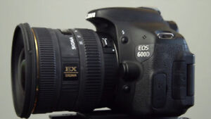 Sigma 10-20mm EF (Canon) Camera Lens (WITH BOX)